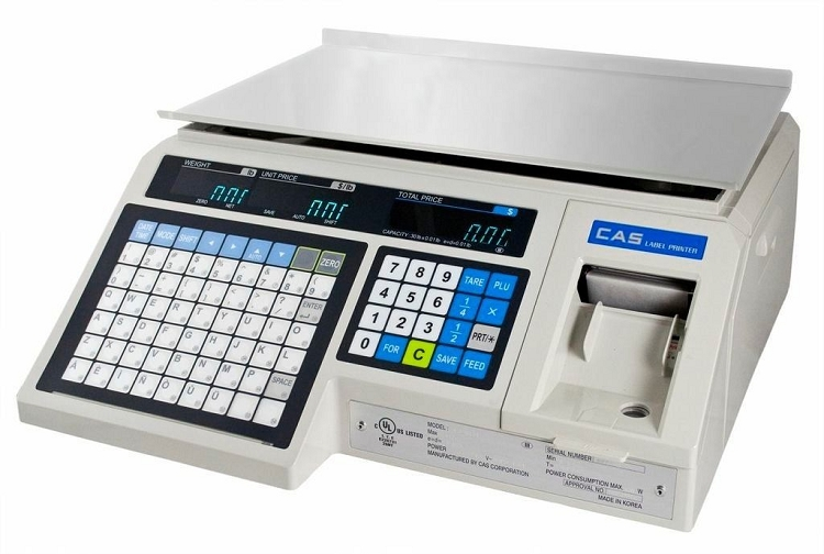 Cas Lp1000n Price Computing Label Printing Scale 30lb