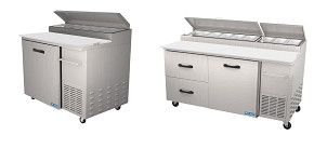 Torrey Pro-Kold Refrigerated Prep Tables
