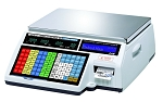 CAS CL5500B-60NE Price Computing Scale, 60 lb Capacity w/Label Printer Ethernet
