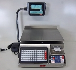 Torrey LSQ-40L, 40 lb Price Computing Scale with Label Printer