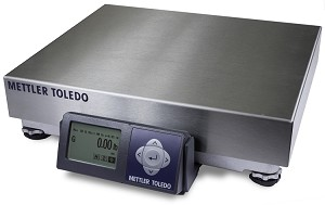 Mettler Toledo BC60 Shipping Scale, 150 x .05 lb, SS Platter-BCA-222-60UB101-110