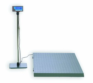 Brecknell PS2000 Series Floor/Veterinary Scale - BS-PS2000 - 2000 Lb x 1