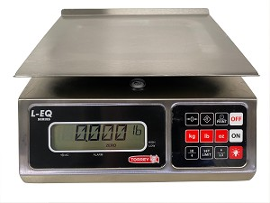 Torrey LEQ 5/10-HS Portioning Bench Scales, 10 lb x 0.002 lbs