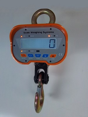 Scale Weighing Systems Heavy-Duty 10k LCD Display Crane Scale